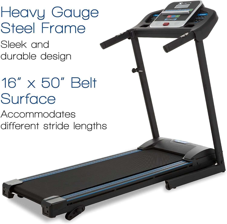 TR150 XTERRA Fitness Folding Treadmill