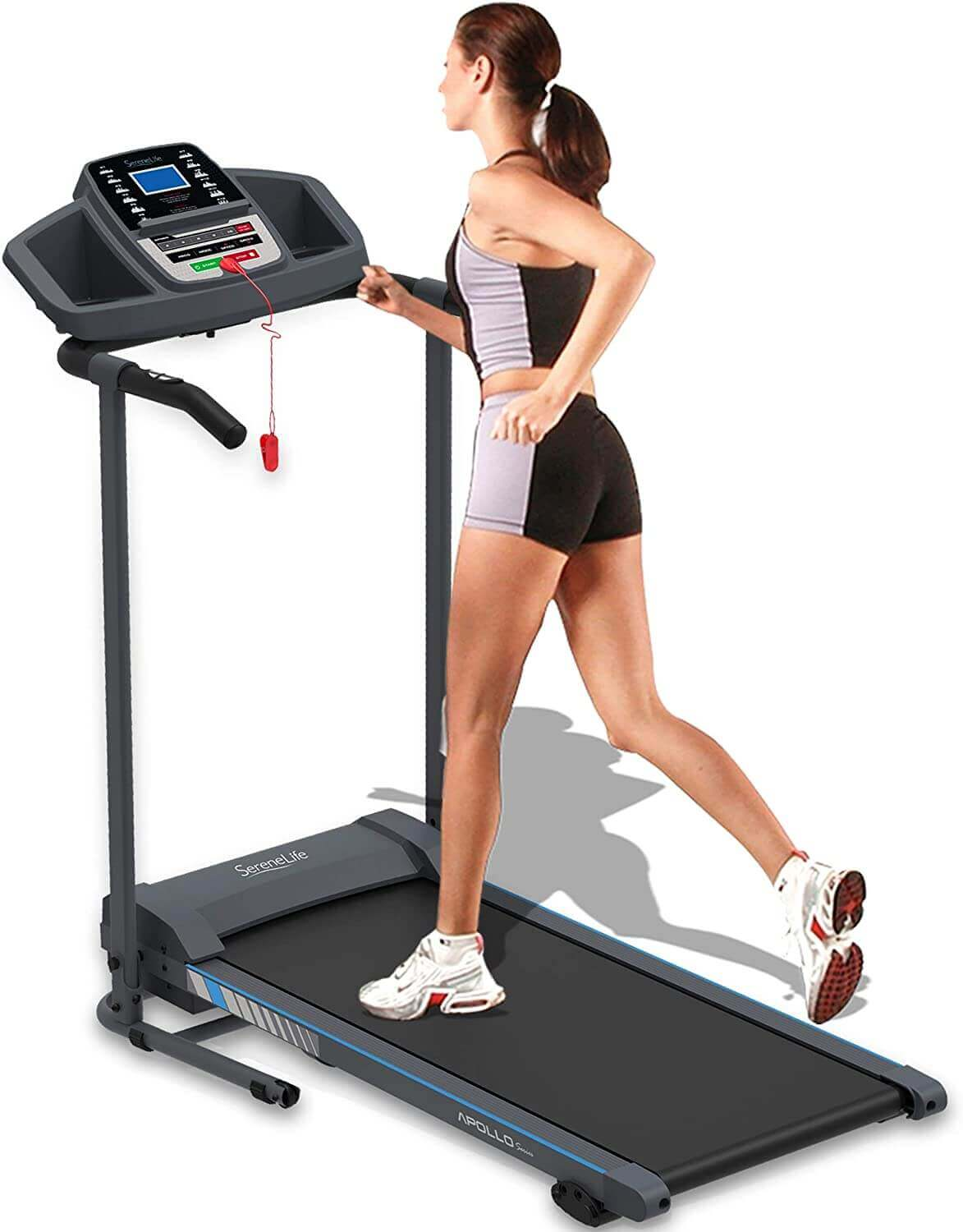 SereneLife Electric, Smart, Folding Treadmill