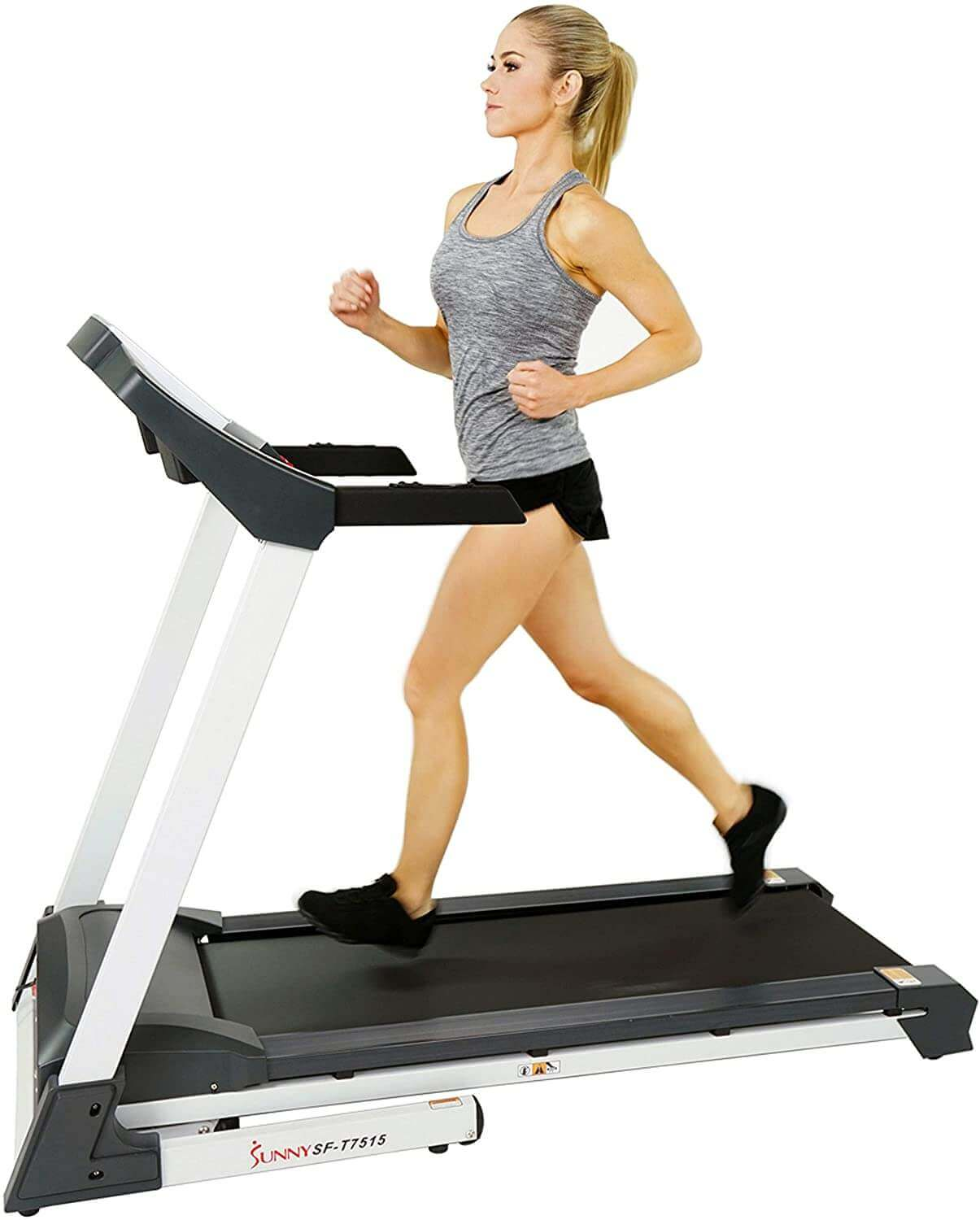 SF-T7515 Sunny Health & Fitness Smart Treadmill with Bluetooth