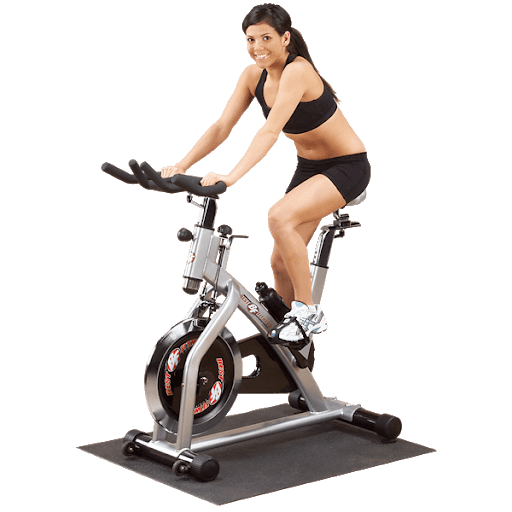Burning calories using bike